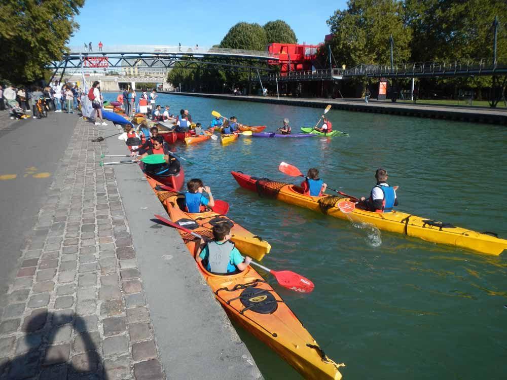 SVS2018 – Kayak à la Villette